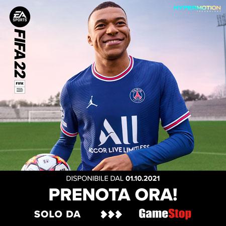 Dal 1 Ottobre  FIFA22